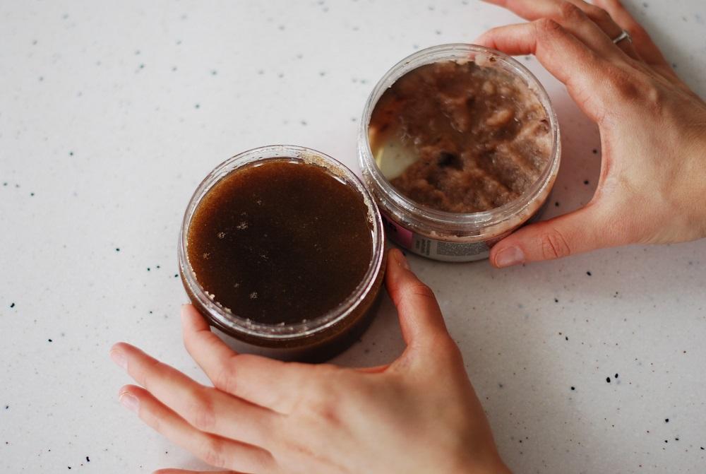 """Соляной скраб """"Чайная роза"""", сахарный скраб """"Мед и шоколад"""""""