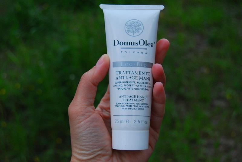 Отзыв об органическом креме для рук DomusOlea Toscana
