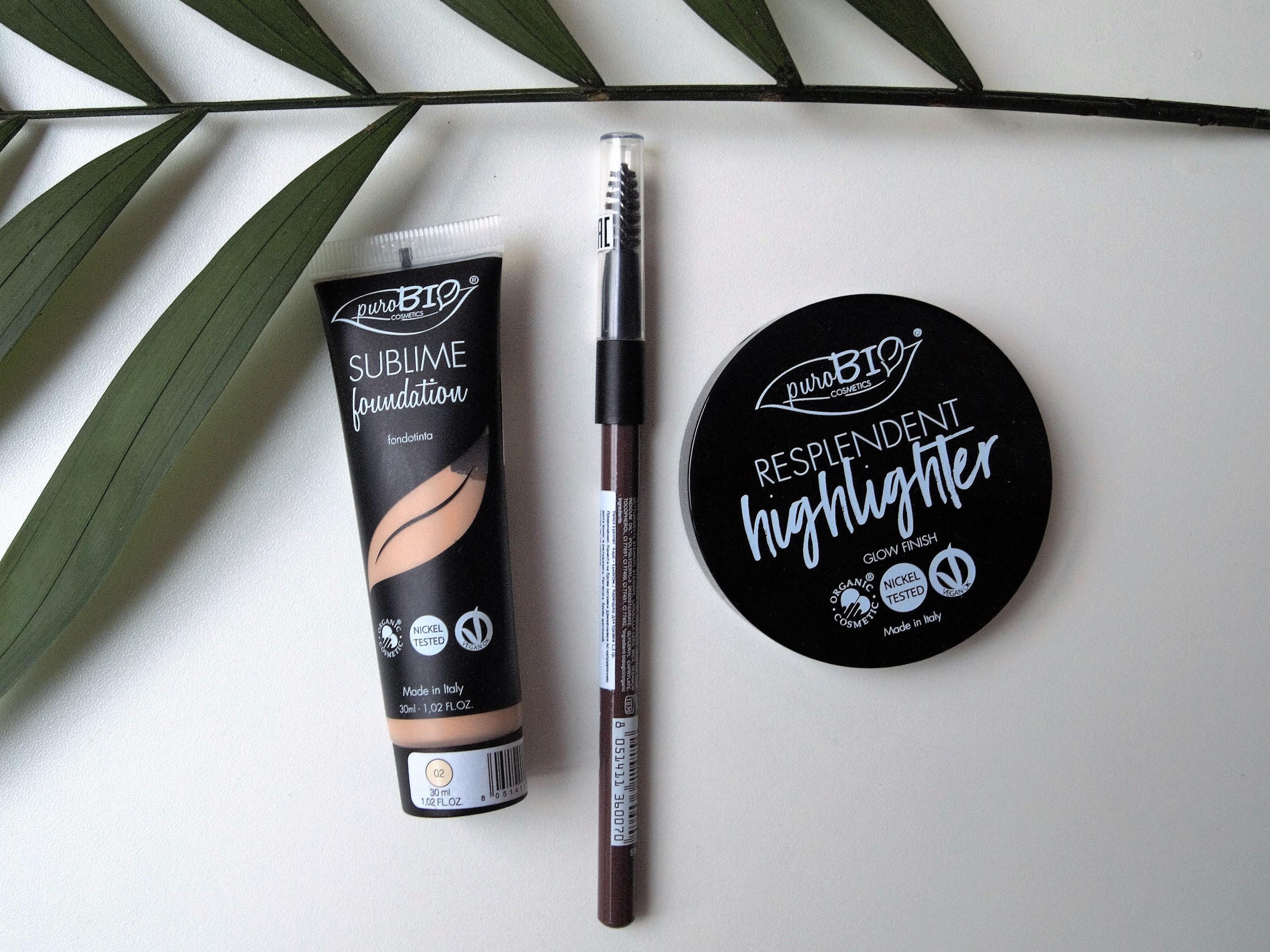 Натуральный тональный крем от нового итальянского бренда PuroBio cosmetics!